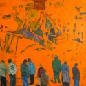 Title: Cavalese II Date Completed: 2005 Medium: Oil on canvas Dimensions: 48″ x 60″