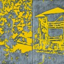 """Title: Yellow House Date Completed: 2007 Medium: Oil on canvas Dimensions: 12″ x 18″  """" >"""