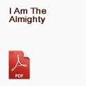 I Am The Almighty